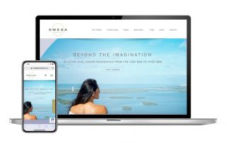 Omega at Bonita Bay Website Design