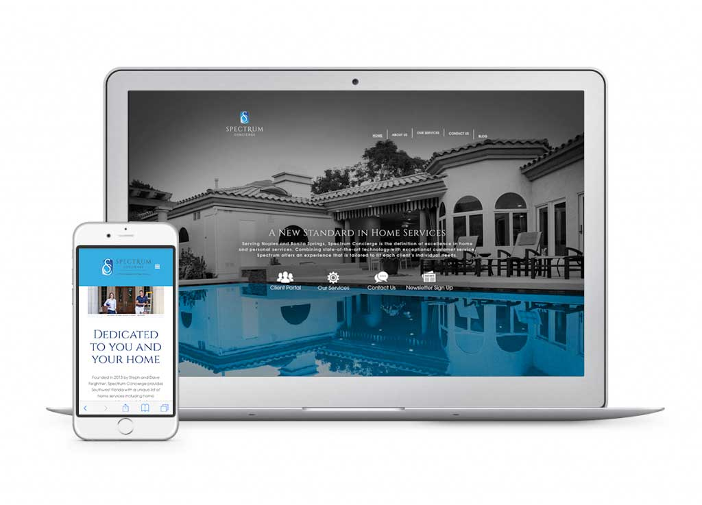 web design - naples florida - wilson creative group