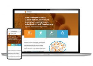 Eduthink21 Website design