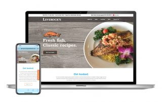 Leverocks Website design