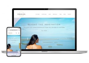 Omega Website design