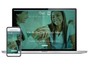 Quest Website design