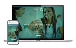Quest Website design