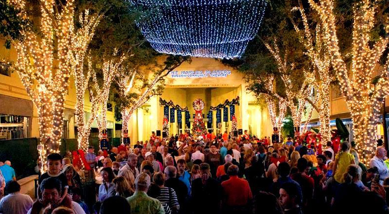 Fifth Avenue South Christmas Walk - Naples, Florida