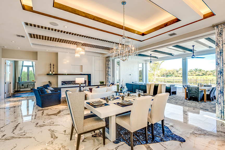 Domenica Model Opening - The Peninsula at Treviso Bay