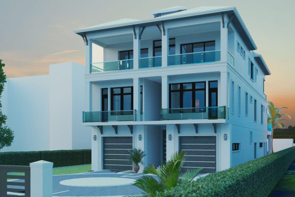 New Diamond Custom Home in Bonita Beach at 26385 Hickory Boulevard