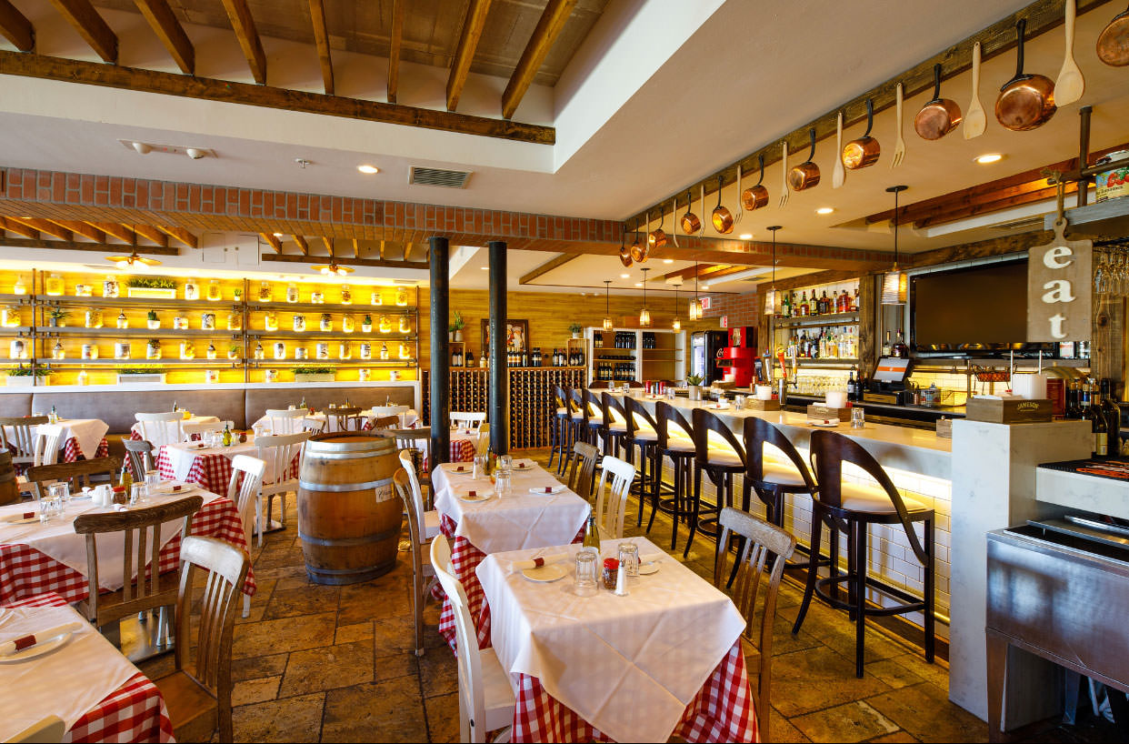 La Trattoria - Newest restaurant at Fifth Avenue