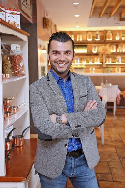 Luca Di Falco, owner and partner of Bice, Caffe Milano, and now La Trattoria