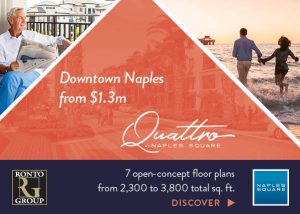 Naples Square Quattro - Web Banner Design - Naples, Florida