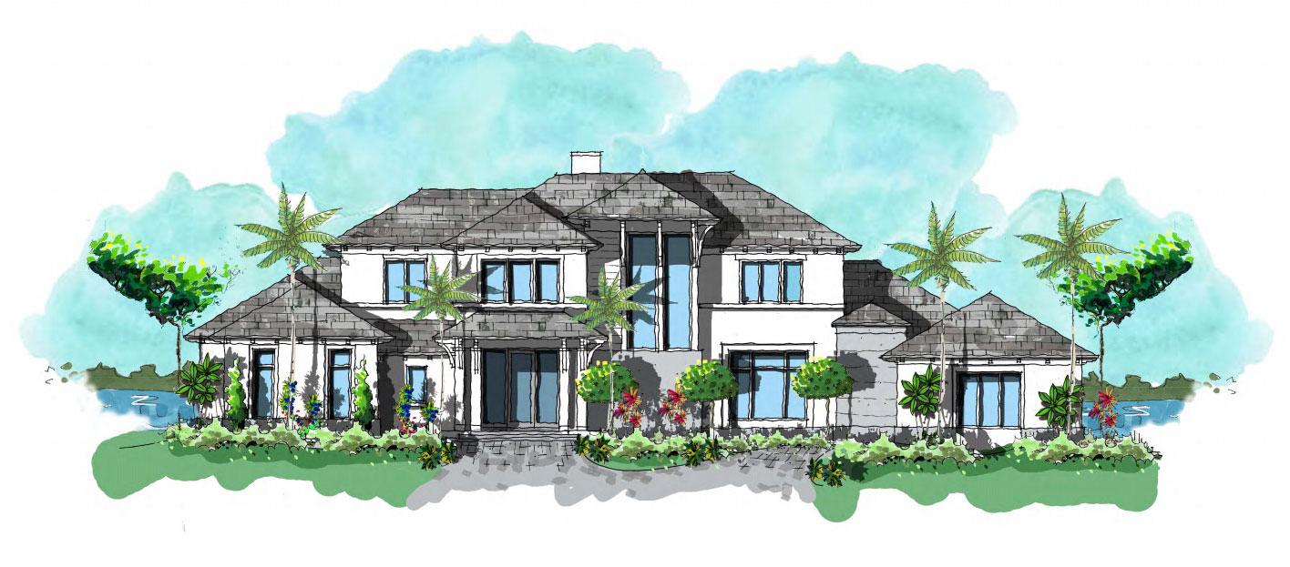 Diamond new home construction in Estuary at Grey Oaks
