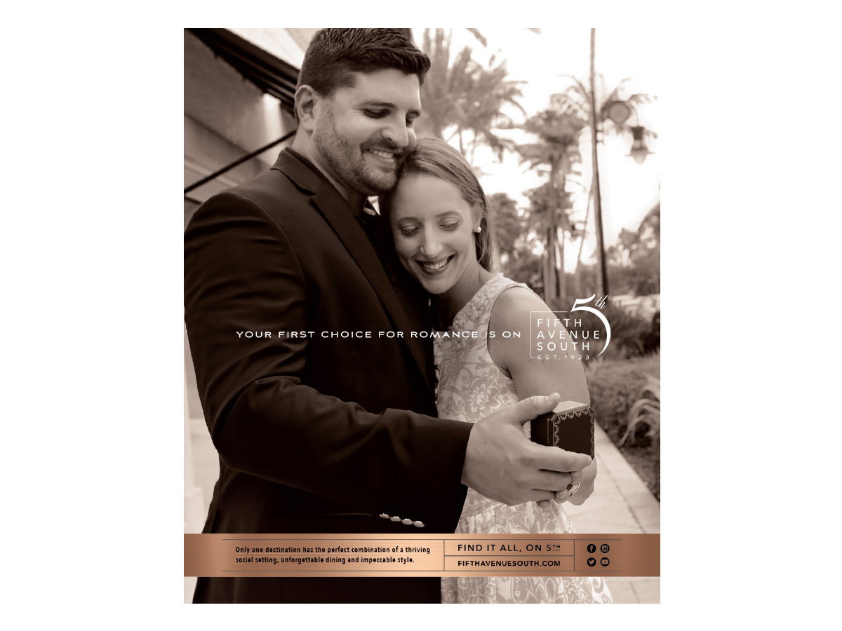 Fifth Avenue Advertising Campaign Design - Naples, Florida