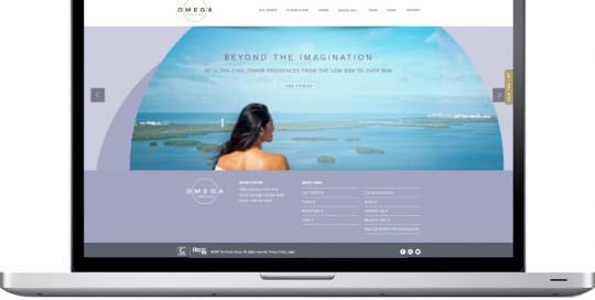 Omega Bonita Bay - Website Slider Design - Naples, Florida