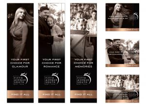 Fifth Avenue Banner Ads Design - Naples, Florida