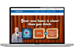Lennar Tampa - Website Slider Design - Naples, Florida
