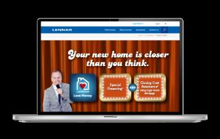 Lennar Tampa - Website Slider Design - Naples, Florida