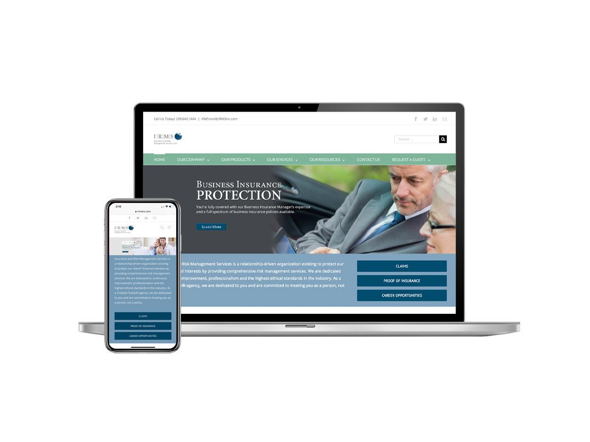 IRMS Website Design
