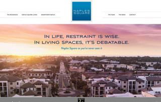 Naples Square Website Slider Design - Southwest Florida