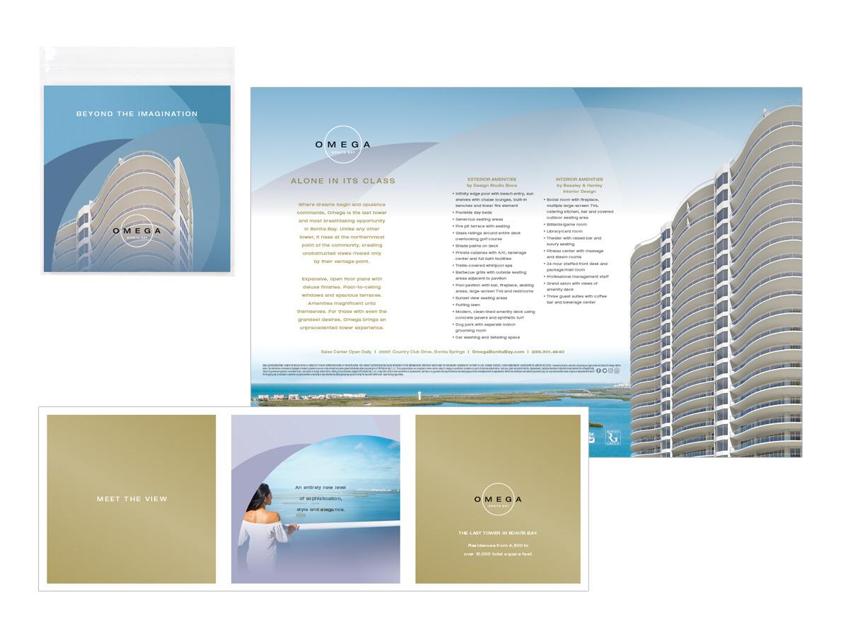 Omega at Bonita Bay Direct Mail Design