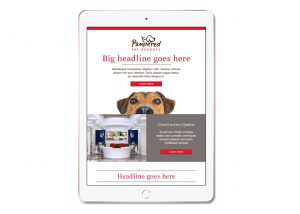 Pampered Pet Resorts - Email Advertising - Southwest Florida