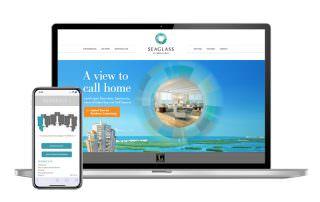 Seaglass at Bonita Bay - Website Design - Southwest Florida