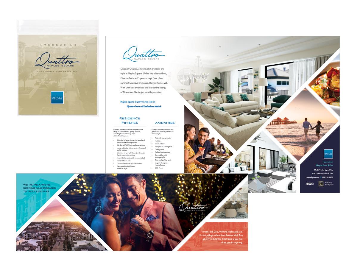 Naples Square - Direct Mail Design - Southwest Florida