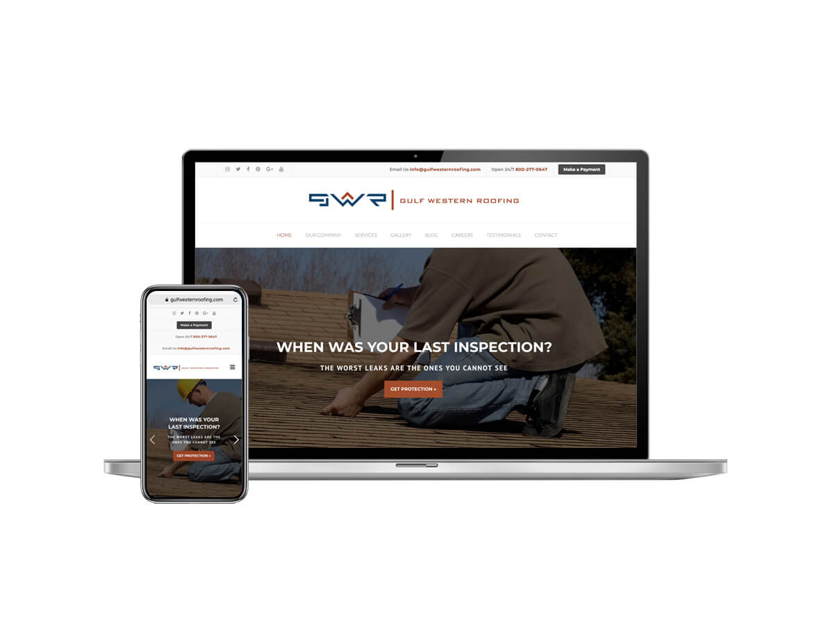 roofing web design agency florida