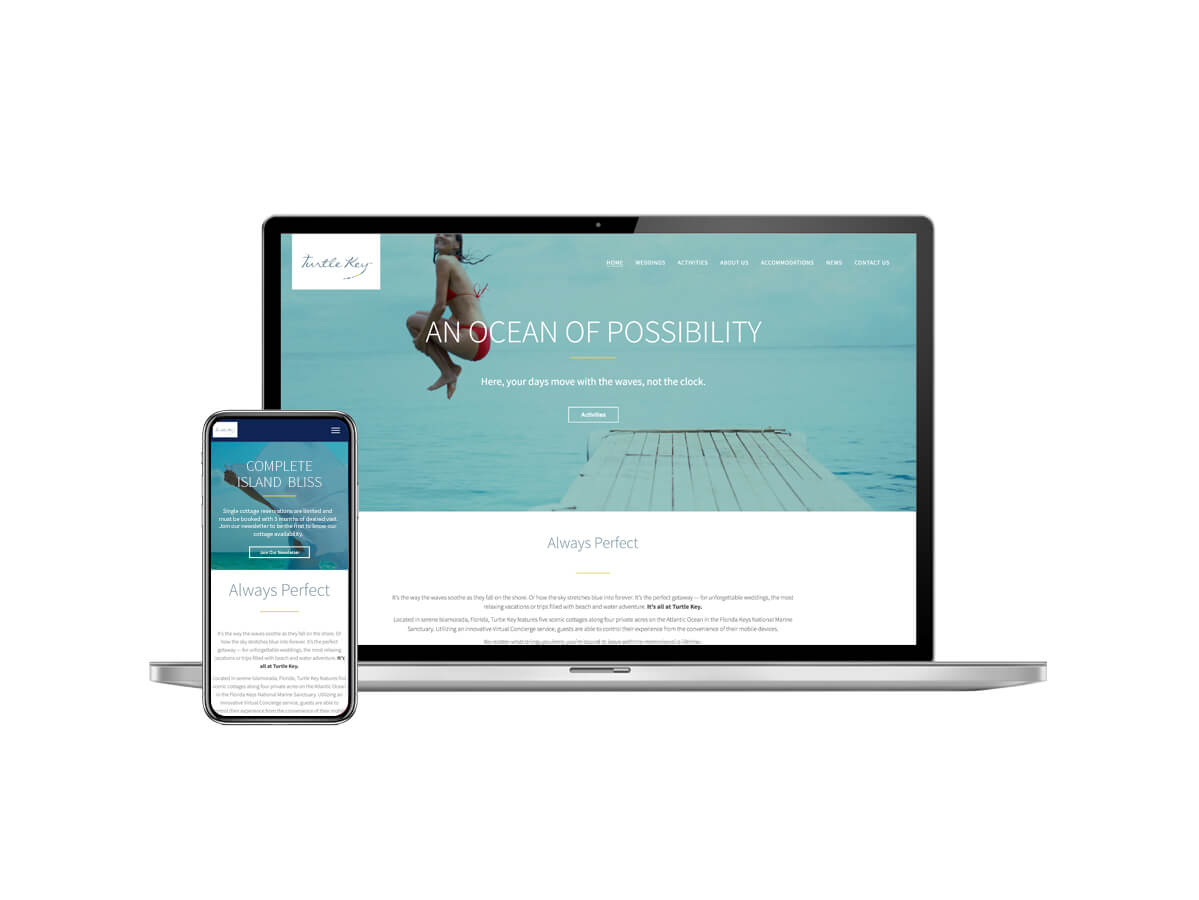 Florida Resort Website Design