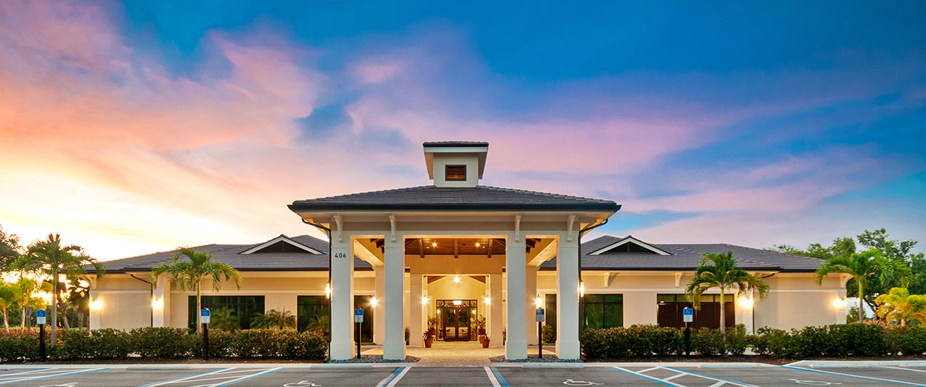 The new, 15,000 square-foot Wellness Center and Spa at Vineyards Country Club.