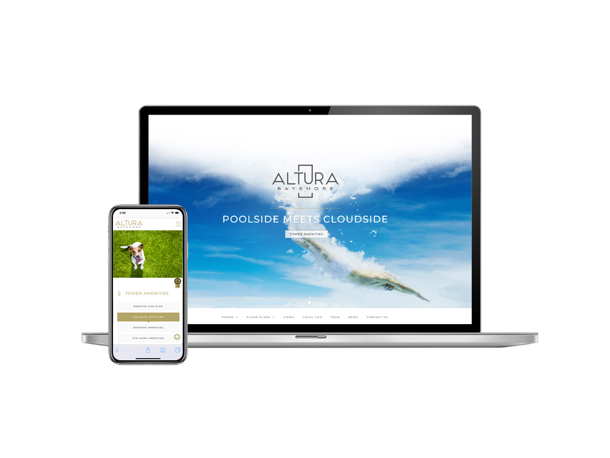 Altura Bayshore Website Design