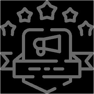 Network advertising icon