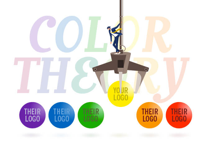 Color Theory Logo Design