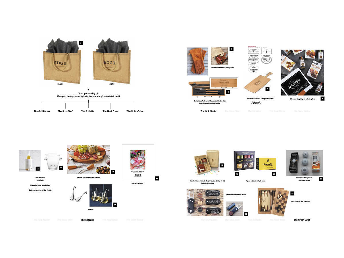custom corporate gift design